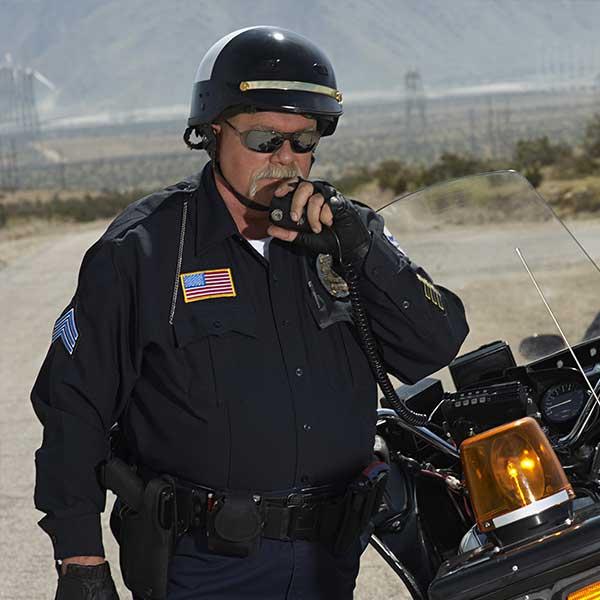 Police Radio Push to Talk