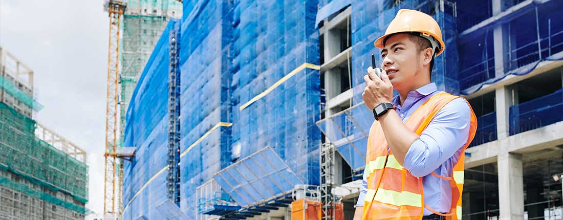 Push to Talk Radio for Commercial Construction